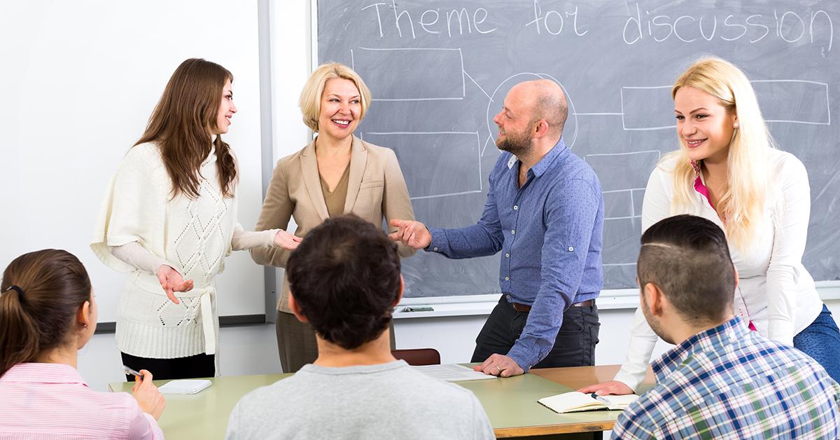 Collaborative Classroom Discussions ~ Teacher collaboration a discussion guide collaborative